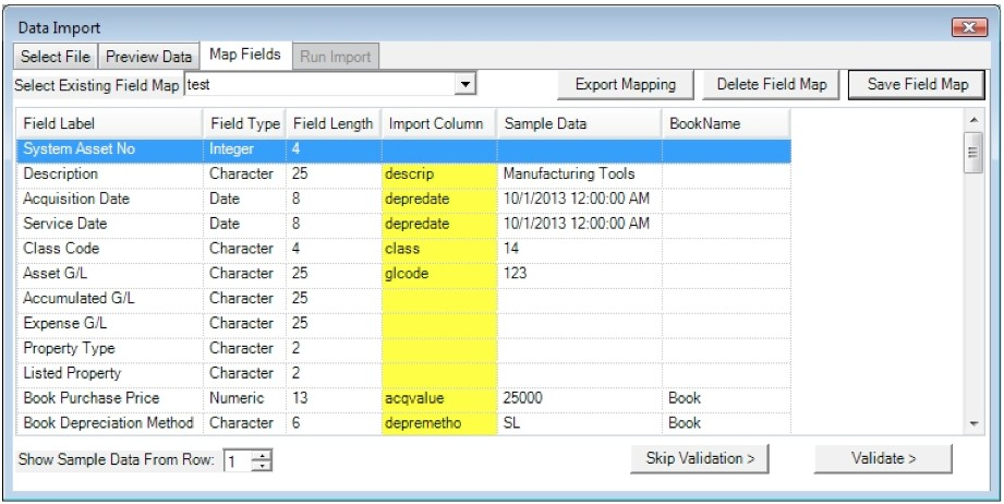 Spreadsheets archives depreciation guru for Asset schedule template