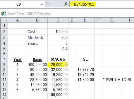 heavy general purpose truck depreciation calculation depreciation guru