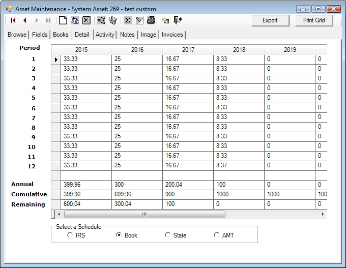Use Custom Depreciation Methods 2