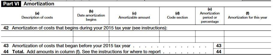 irs form 4562 depreciation – part 6